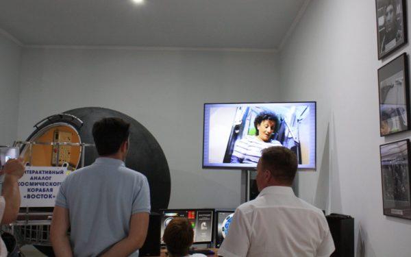 Делегация из Франции в нашем космическом музее!