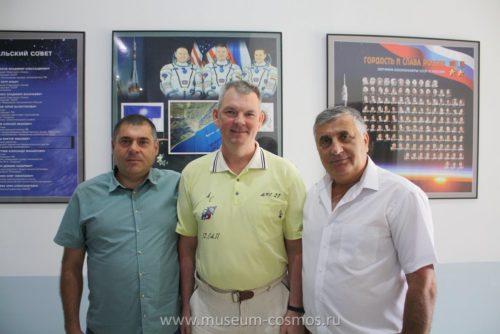 Российский космонавт Самокутяев А. М. в нашем музее