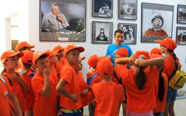 Детский лагерь Юный Нефтяник в Музее Космонавтики!