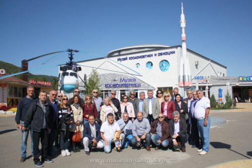 """Музей """"Космонавтики и авиации"""" принимает уважаемых гостей из Греции"""