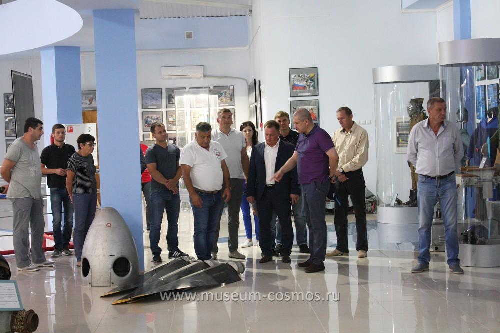 Командующий дальней авиацией Сергей Иванович Кобылаш в нашем музее