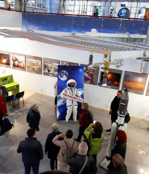 Гости из немецкого города Хильдесхайм в нашем музее Космонавтики